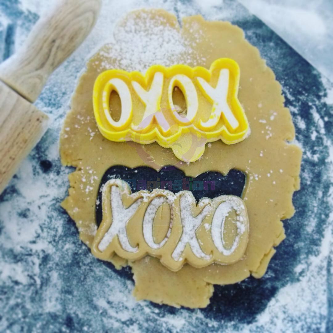 XOXO Cookie Cutter