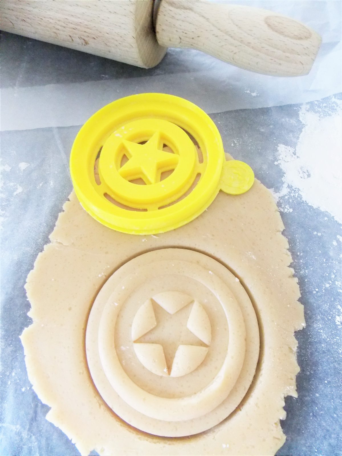 American Captain Shield Cookie Cutter