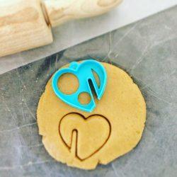Mug Heart Cookie Cutter