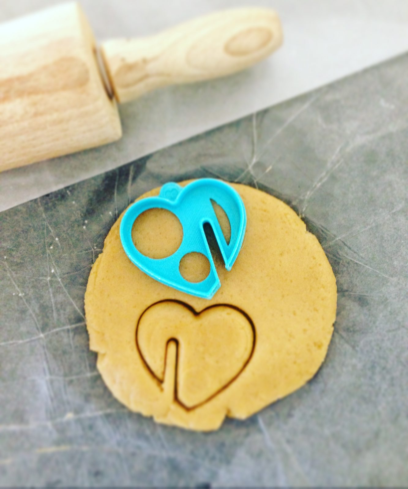 Mug Heart Cookie Cutter