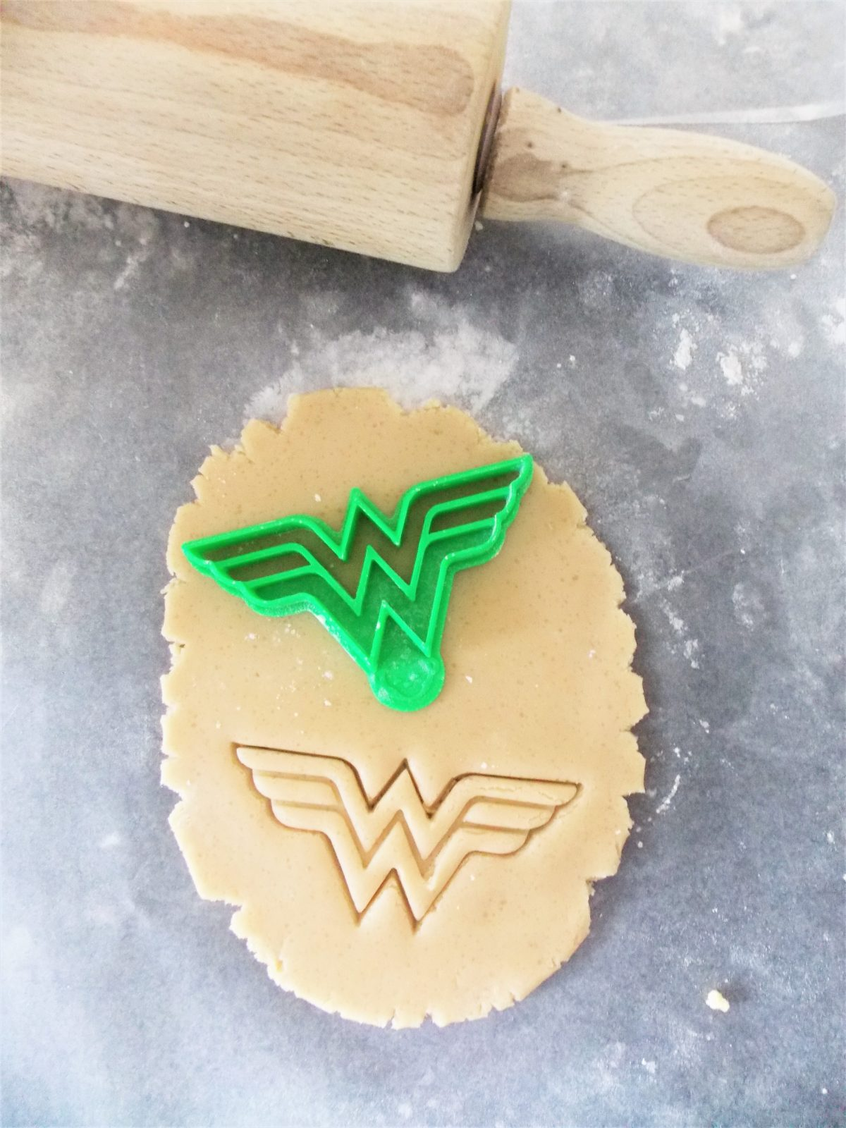 Wonderful Woman Logo Cookie Cutter