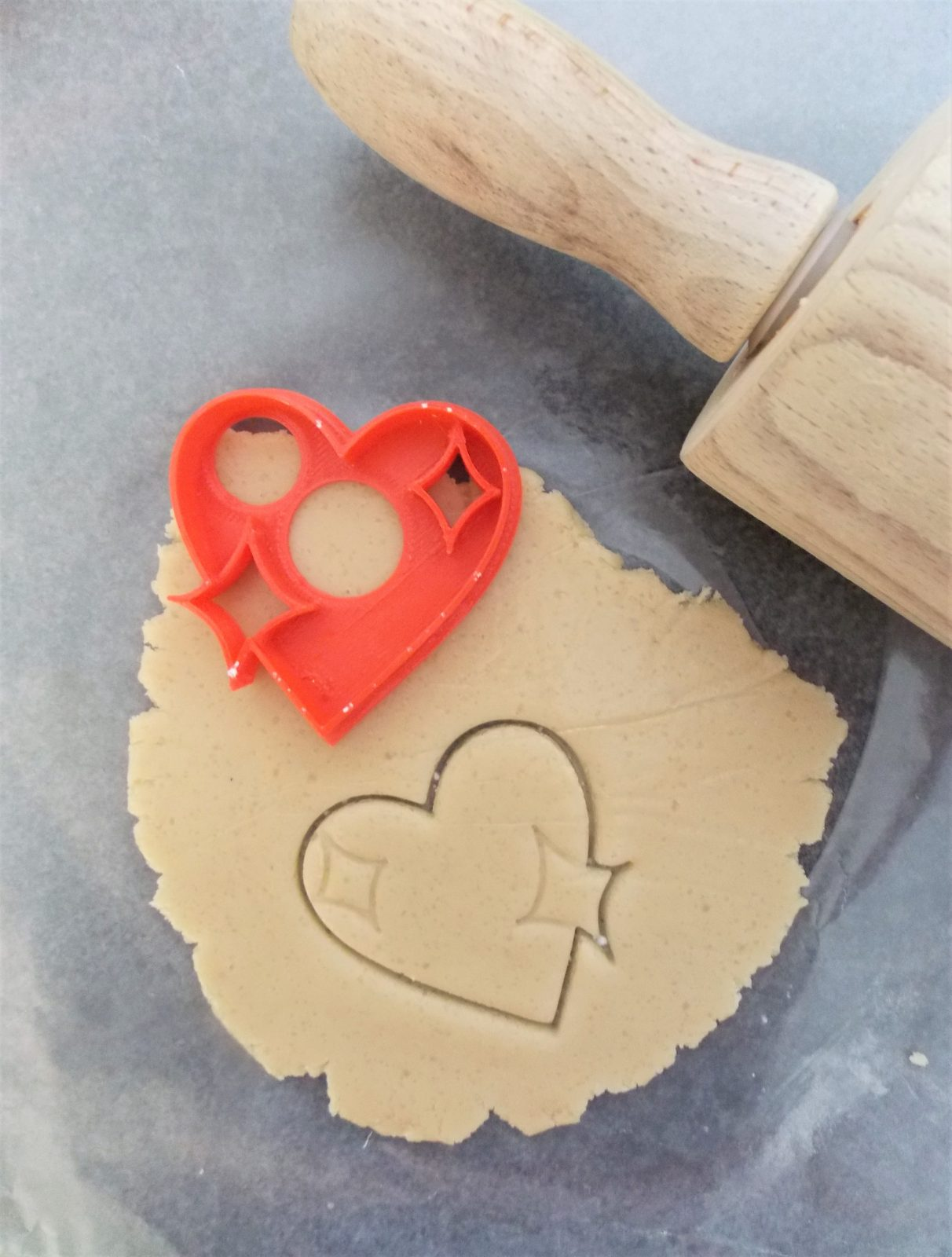 Mini Heart Emoji Cookie Cutter