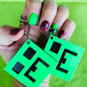 Minecraft Keyrings