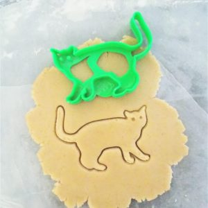 Spooky Cat Cookie Cutter