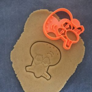 Squid Man Cookie Cutter