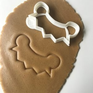 Bunting Outline Cookie Cutter