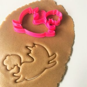 Caticorn Outline Cookie Cutter