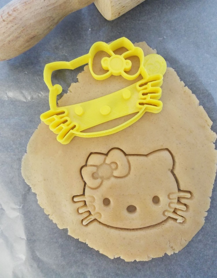 Girl Kitty Cookie Cutter