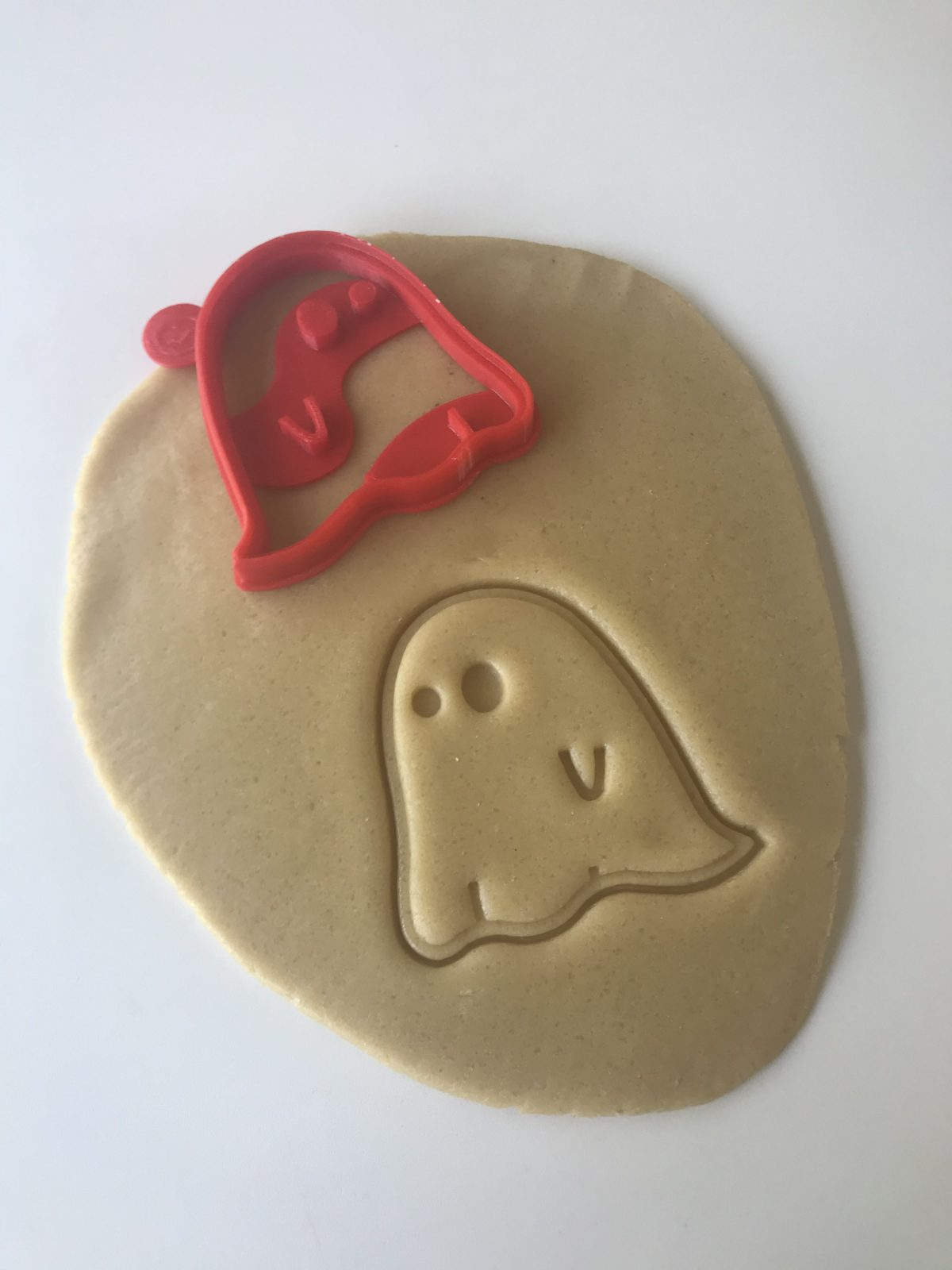 Simple Ghost Cookie Cutter