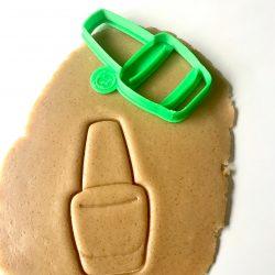 Nail Polish Cookie Cutter