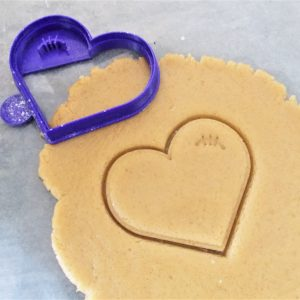 Zombie Heart Cookie Cutter