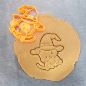 Cat Witch Cookie Cutter
