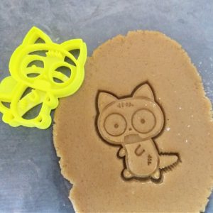 Zombie Cat Cookie Cutter