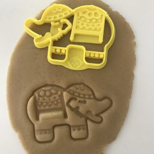 Hindu Elephant Cookie Cutter