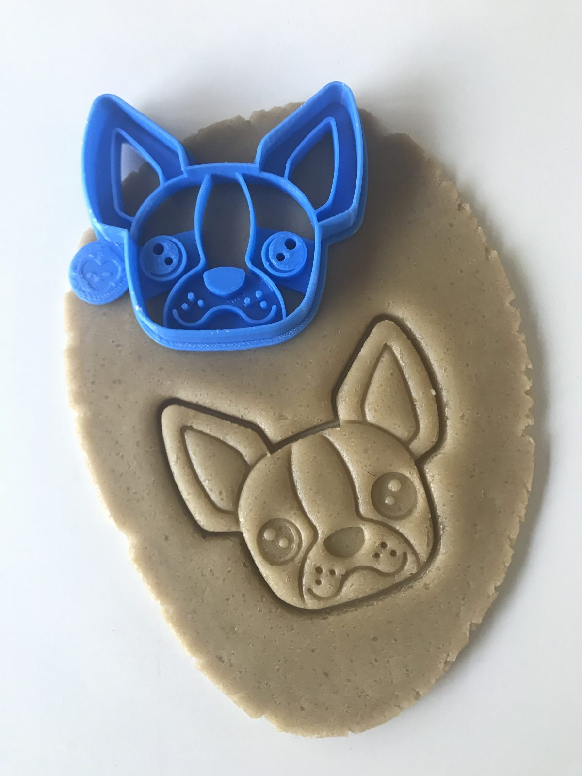 Boston Terrier Face Cookie Cutter
