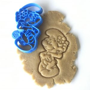Blue Man Flower Cookie Cutter