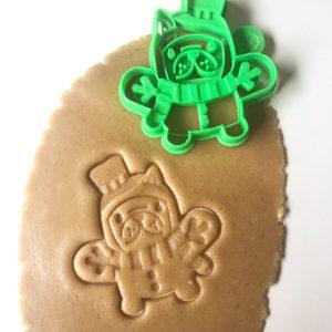 Snowman Dog Cookie Cutter
