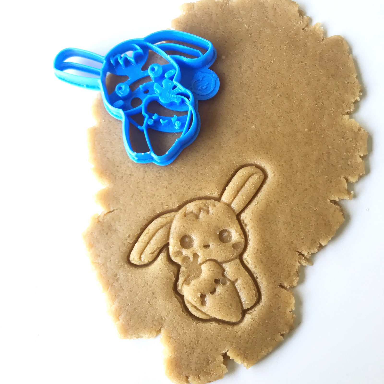 Bright-Eyed Bunny Cookie Cutter