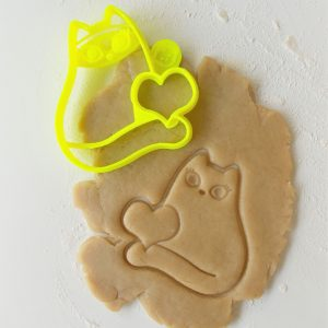 Cat Pun Cookie Cutter