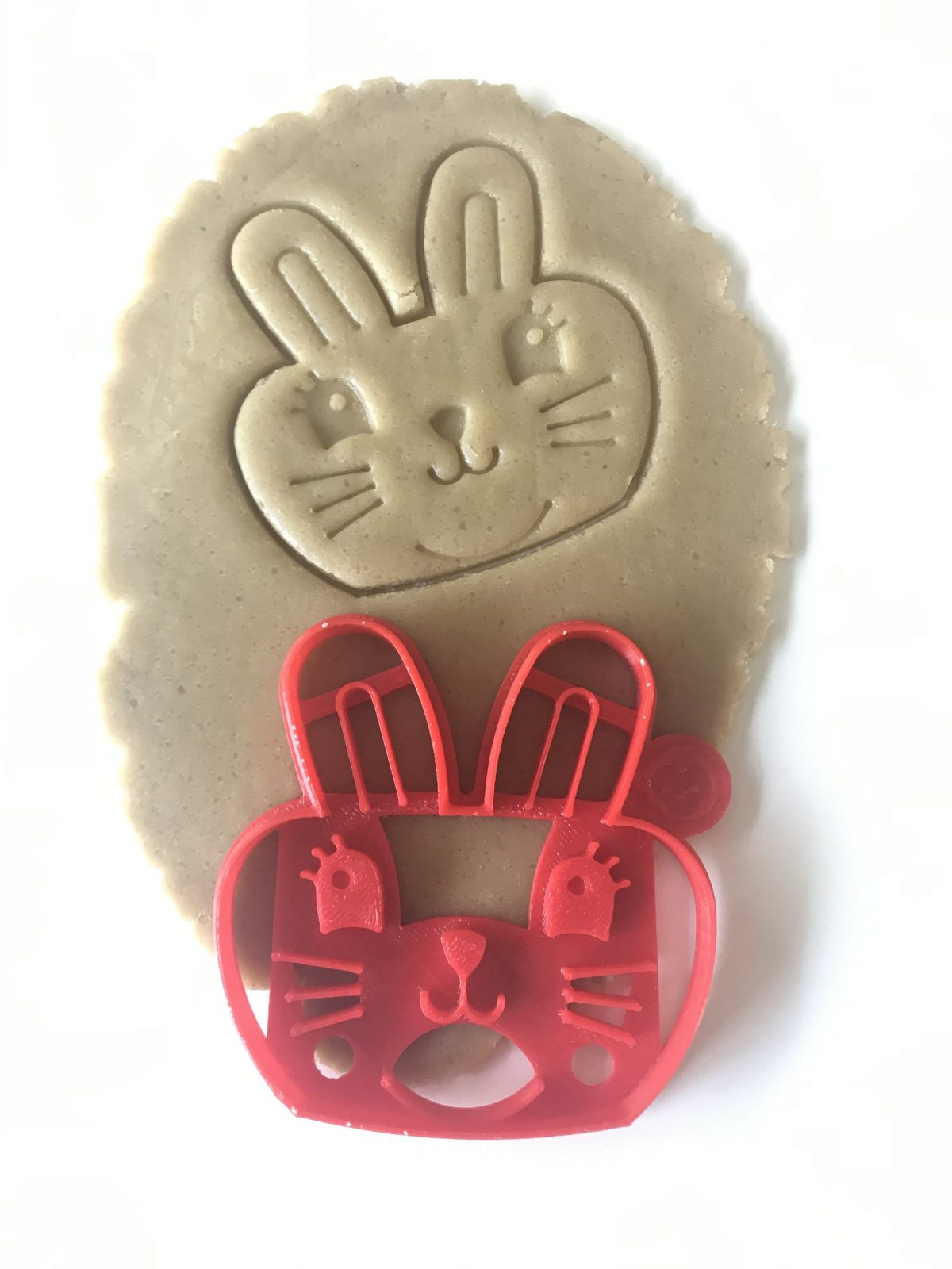Chubby Bunny Cookie Cutter