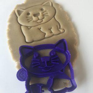 Happy Cat Cookie Cutter