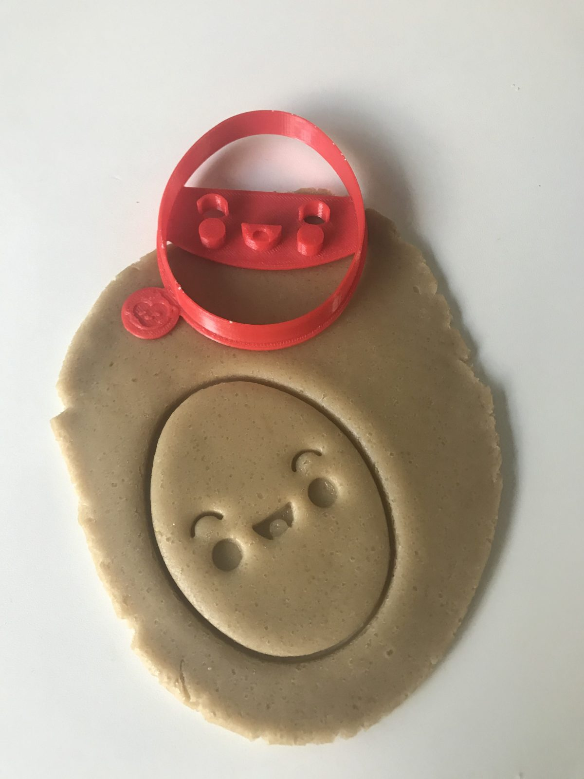 Happy Egg Cookie Cutter