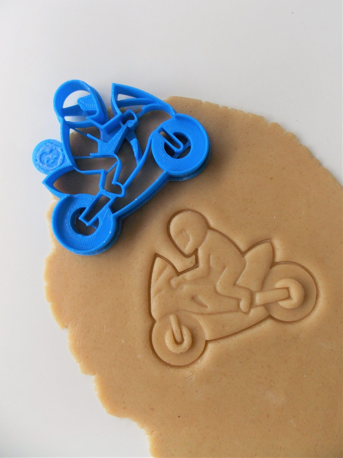 Superbike With Rider Cookie Cutter