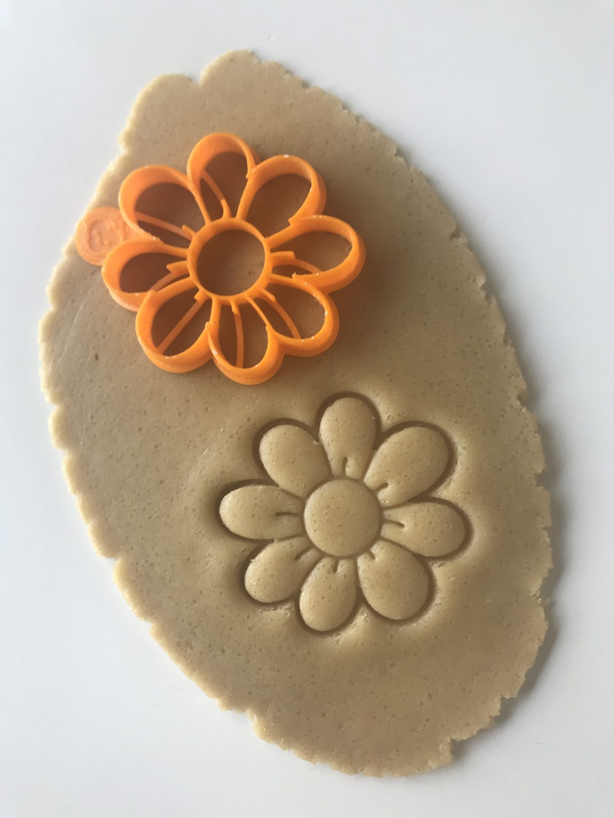 Eight Petal Flower Cookie Cutter