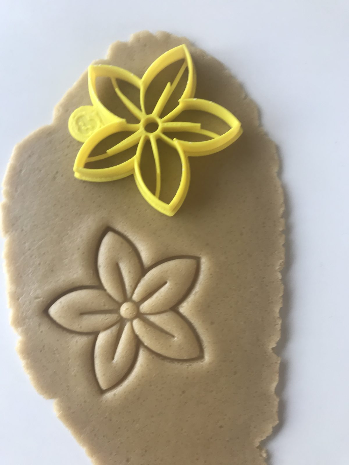 Five Petal Flower Cookie Cutter