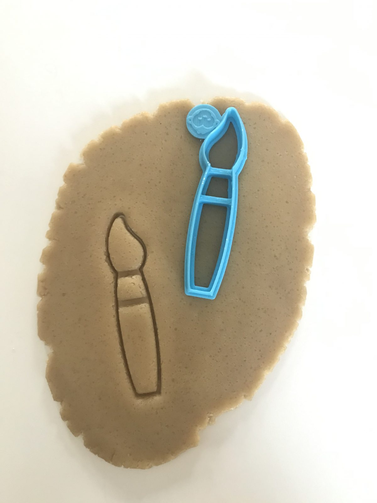 Artist Paint Brush Cookie Cutter