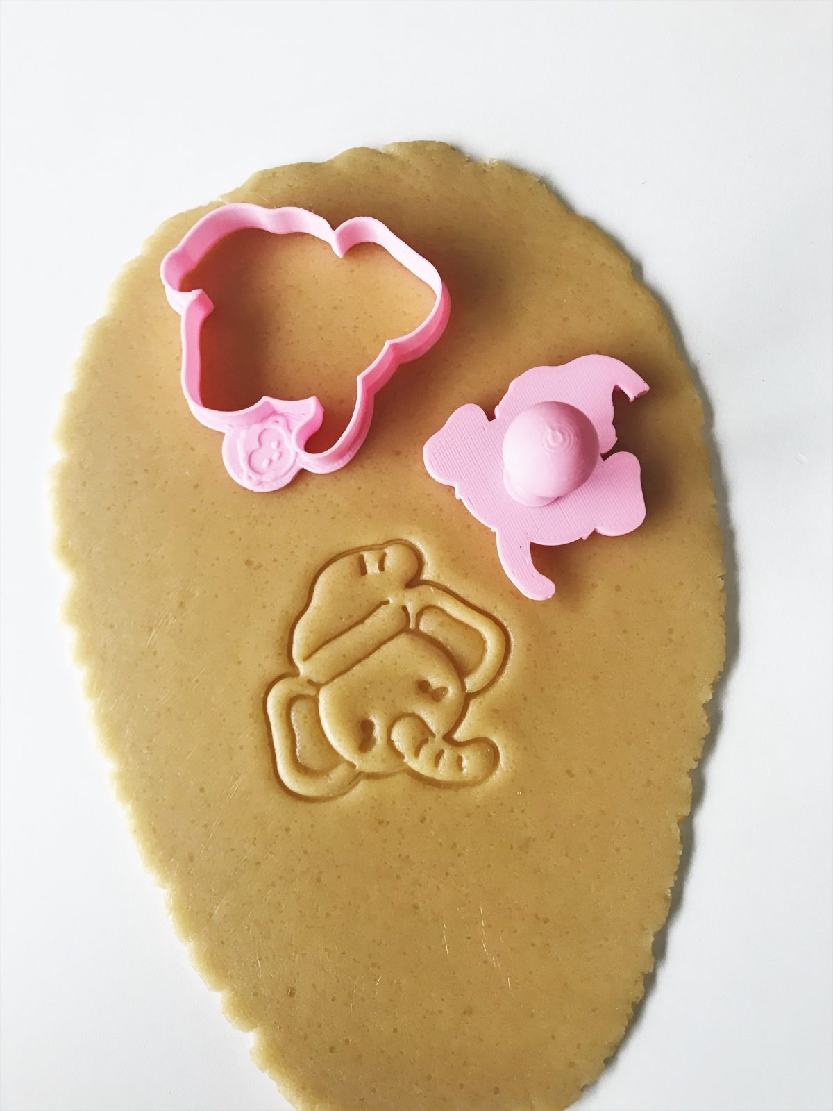 Christmas Elephant Mini Cookie Cutter