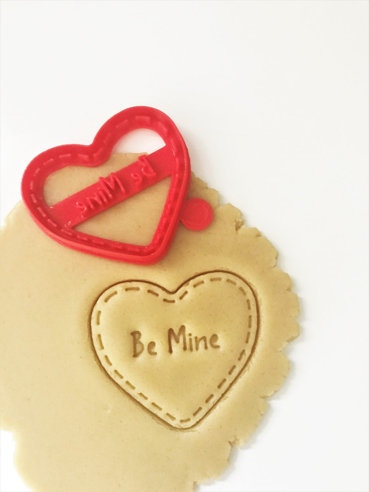 Be Mine With Seam Cookie Cutter