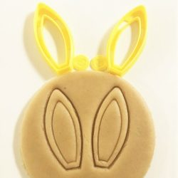 Bunny Ears Cookie Cutter