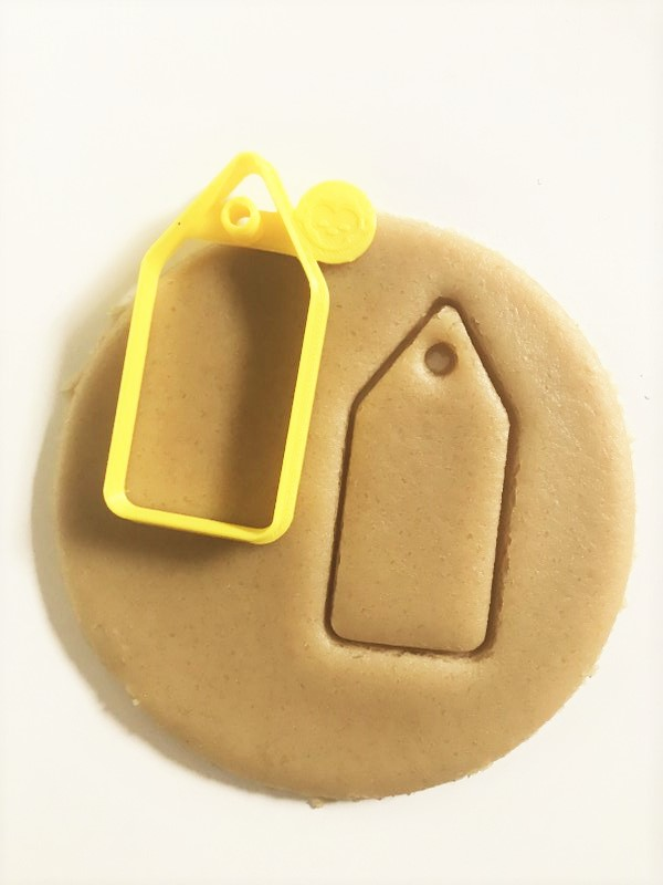 Ornament Name Tag Cookie Cutter