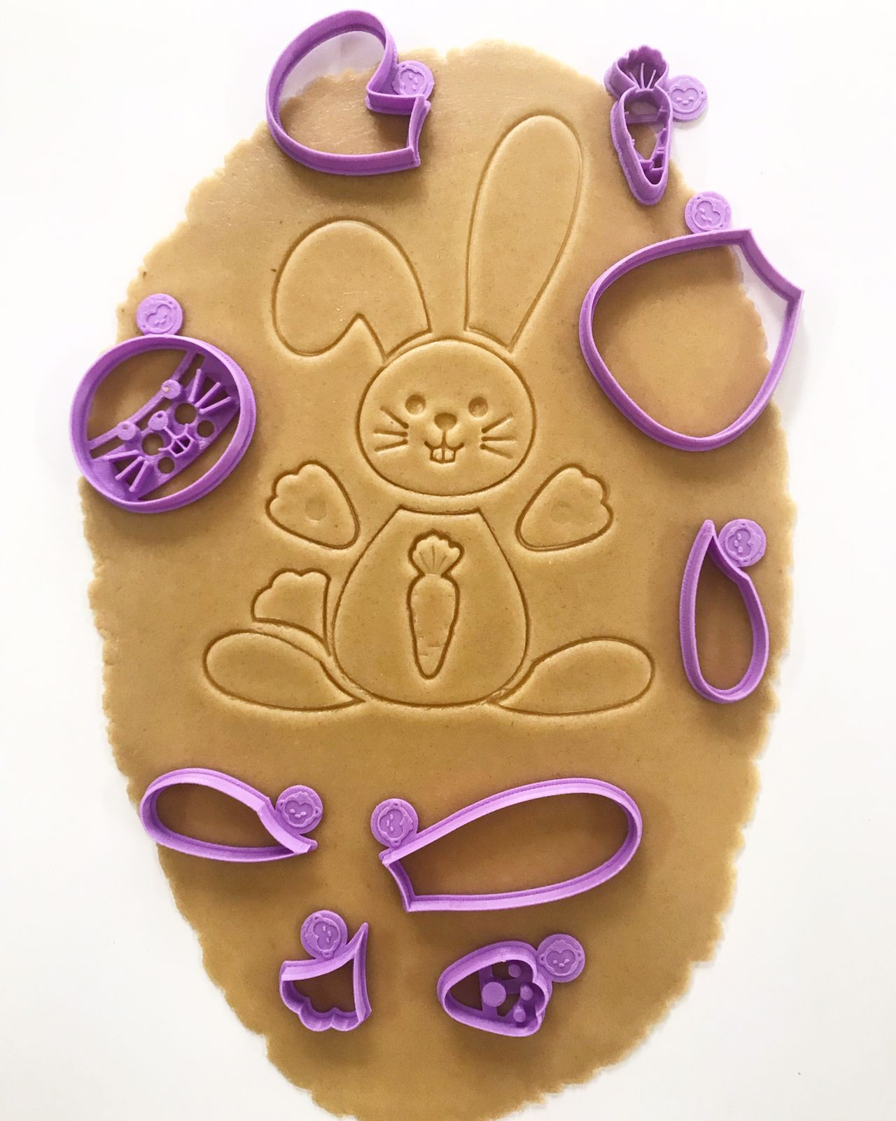 Build A Bunny Cookie Cutter