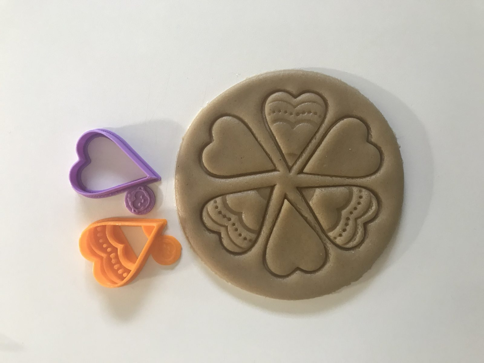 Flower Heart Cookie Cutter