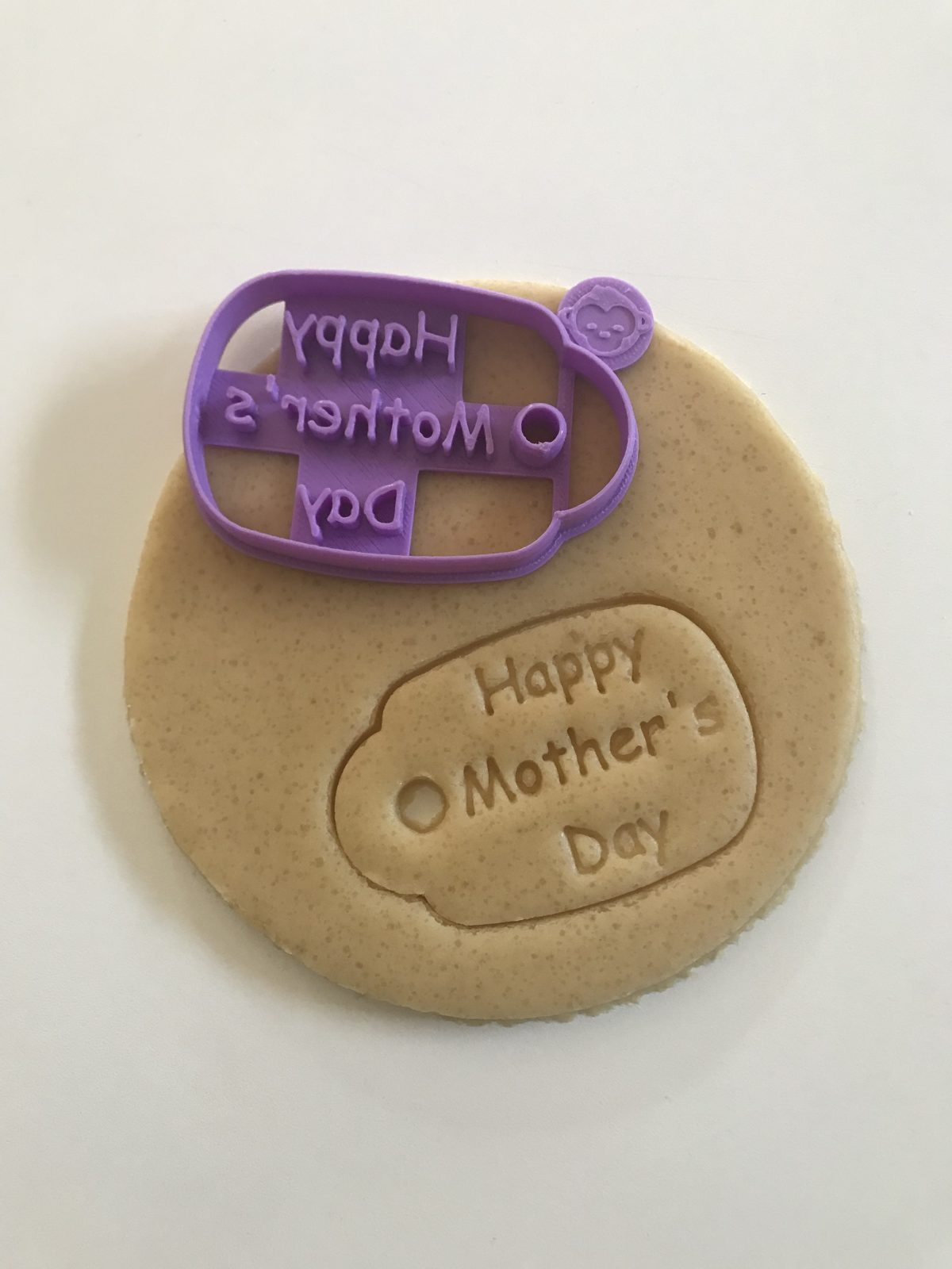 Happy Mother's Day Tag Cookie Cutter