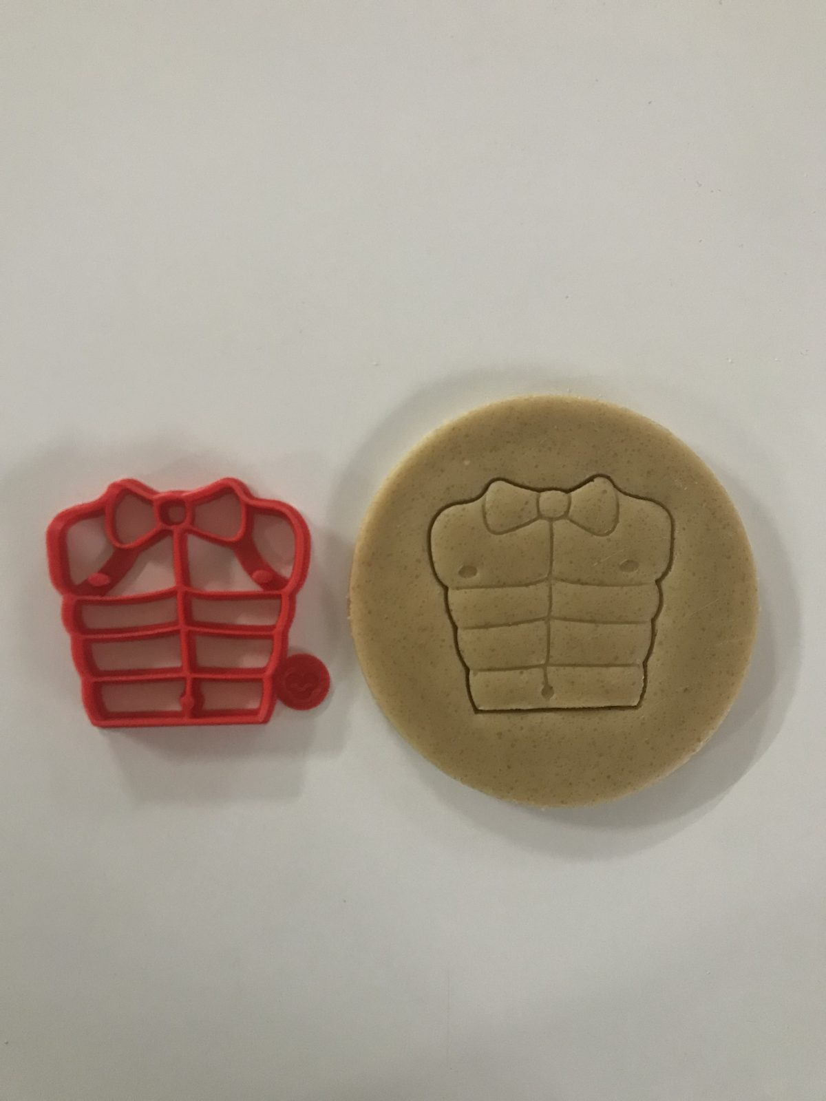 Abs With Bow Tie Cookie Cutter
